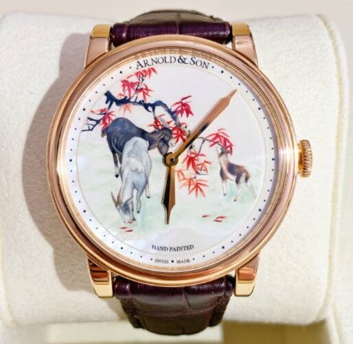 【新品】 ARNOLD&SON アーノルド&サン TE8 18Kローズゴールド 1LCAP.M07A.C110 限定8本 腕時計 watch【送料・代引手数料無料】