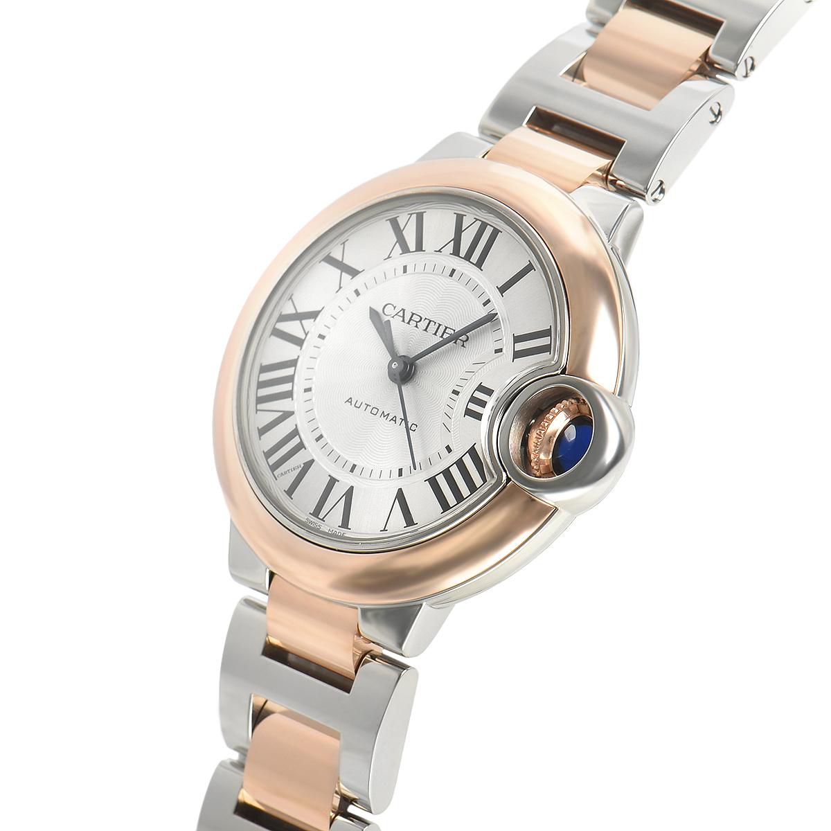 【新品】Cartier カルティエ バロンブルー 33mm W3BB0006