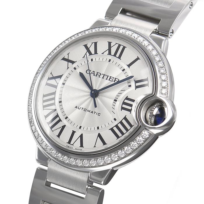 【新品】Cartier カルティエ バロンブルー 36mm W4BB0017