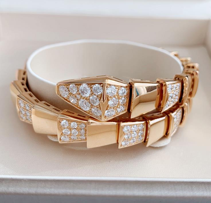 【新品】Bvlgari ブルガリ セルペンティ ラップリング 18Kローズゴールド ダイヤモンド BR855312  (サイズ M)