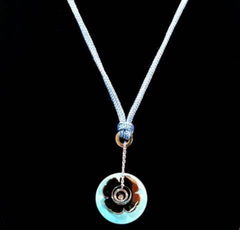 【新品】Chopard ショパール HAPPY DREAMS 18Kホワイトゴールド ダイヤモンド 79-6472-405-20 (18Kホワイトゴールド10.3g/ダイヤモンド0.05ct/ サイズ ペンダント51mm)