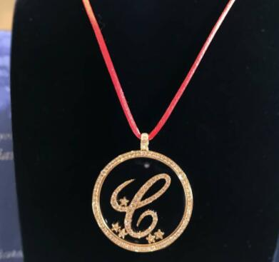 【新品】Chopard ショパール HAPPY DIAMONDS ネックレス 18Kホワイトゴールド ダイヤモンド 79-6578-01-20
