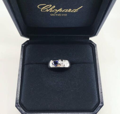 【新品】Chopard ショパール HAPPY DIAMONDS  リング18Kホワイトゴールド 82/2900-3