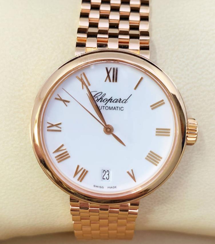 【新品】Chopard ショパール クラシック CLASSIC 119393-5001 18k ホワイトゴールド レディース 腕時計 watch【送料・代引手数料無料】