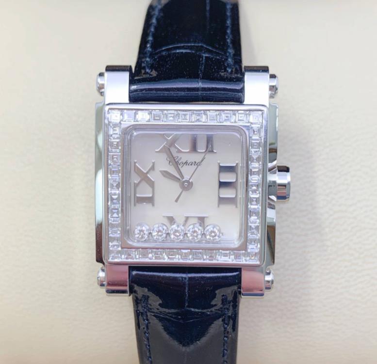【新品】Chopard ショパール happy diamond ハッピーダイヤ 275349-1001 18Kホワイトゴールド レディース腕時計 watch【送料・代引手数料無料】