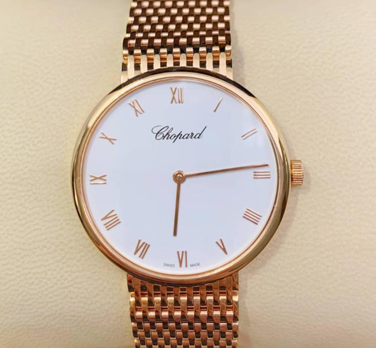 【新品】Chopard ショパール クラシック CLASSIC 153613-5001 18k ローズゴールド レディース 腕時計 watch【送料・代引手数料無料】