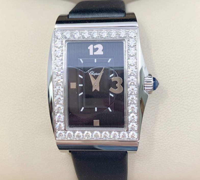【新品】Chopard ショパール クラシック 137461-1004 18kホワイトゴールド 純正ダイヤ レディース 腕時計 watch【送料・代引手数料無料】