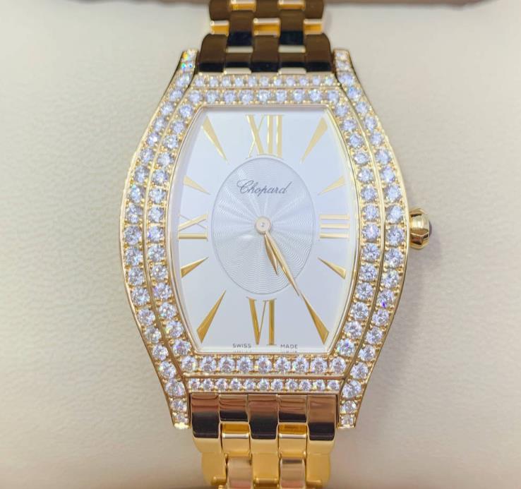 【新品】Chopard ショパール クラシック CLASSIC 109388-0101 純正ダイヤ 18kローズゴールド レディース腕時計 watch【送料・代引手数料無料】