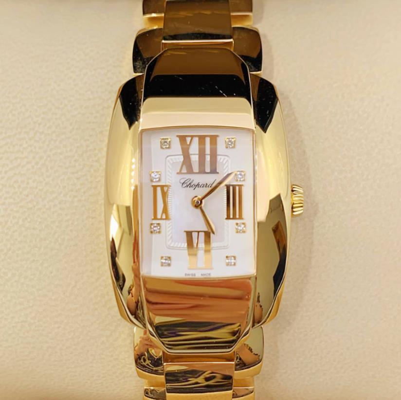 【新品】Chopard ショパール LA STRADA ラ ストラーダ 419254-0004 18Kイエローゴールド レディース腕時計 watch【送料・代引手数料無料】