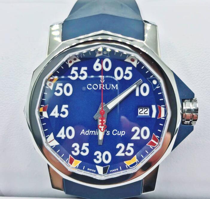 【新品】CORUM コルム / アドミラルズカップ コンペティション A082/03594-HQ ステンレススチール メンズ 腕時計 watch【送料・代引手数料無料】