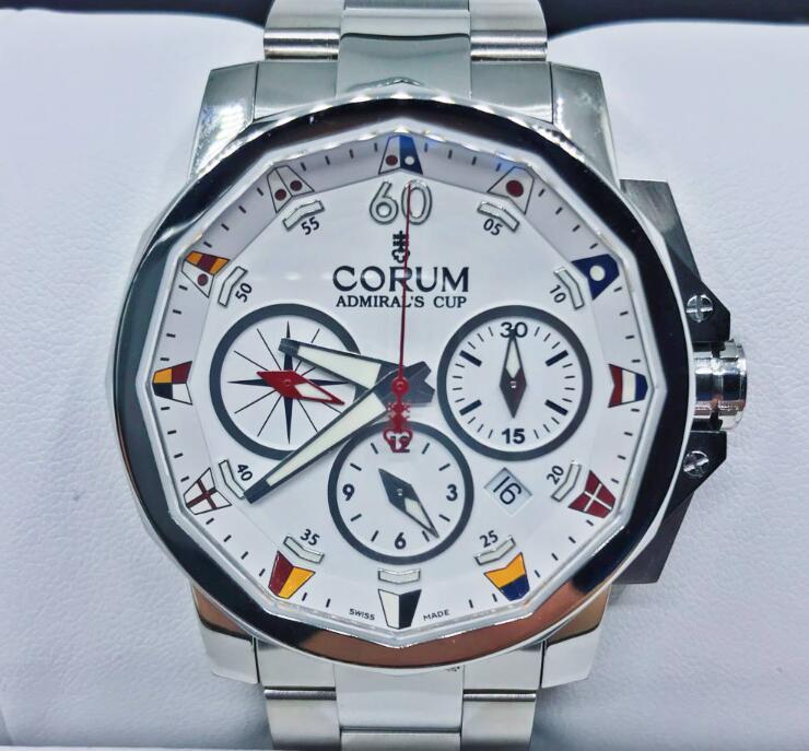 【新品】CORUM コルム / アドミラルズカップ コンペティション 753.691.20V701 AA92 ステンレススチール メンズ 腕時計 watch【送料・代引手数料無料】