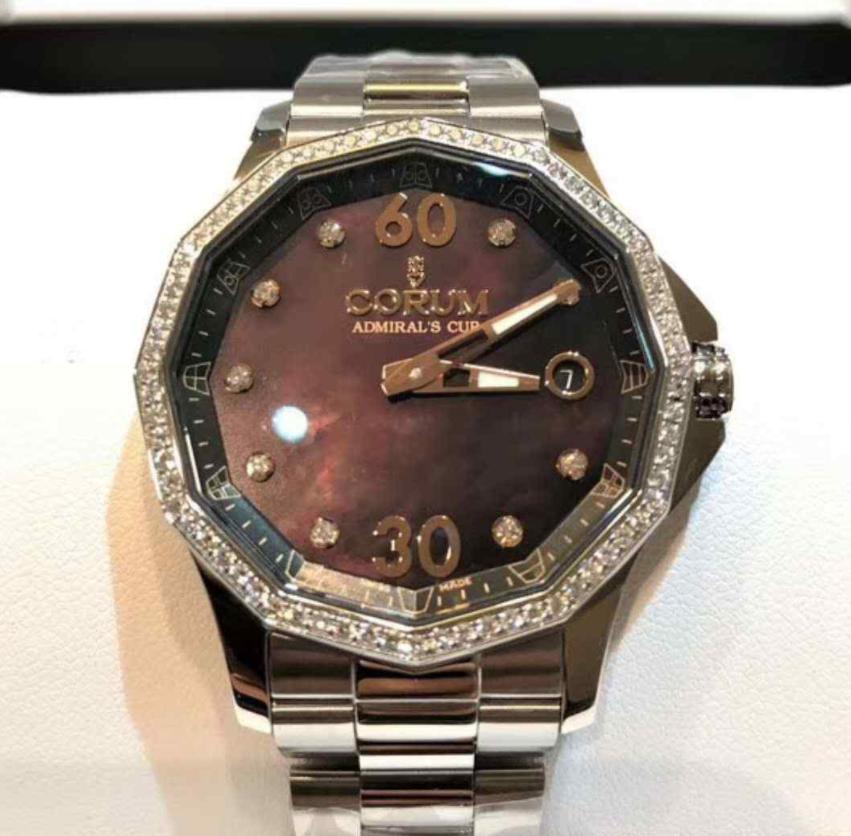 【新品】 CORUM コルム / アドミラルズカップ A082/03427 ステンレススチール メンズ ステンレススチール メンズ 腕時計 watch 【送料代引き無料】