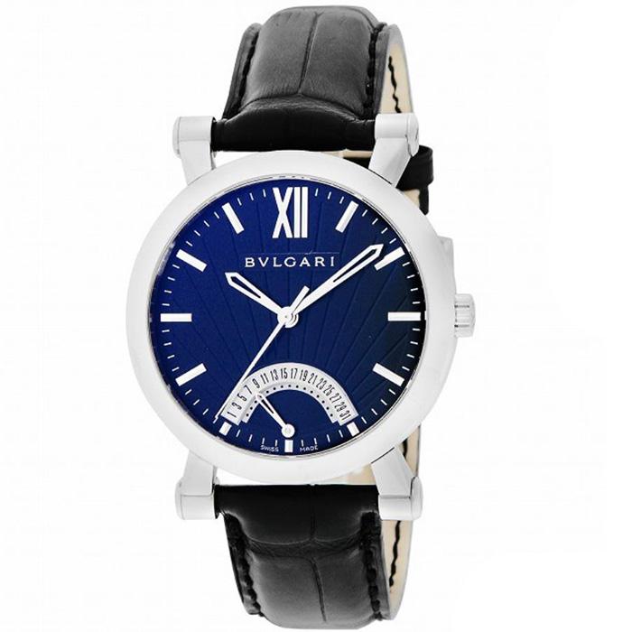 【新品】BVLGARI ブルガリ ソティリオ・ブルガリSB42BSLDR 101706 ステンレススチール メンズ 腕時計 watch【送料・代引手数料無料】