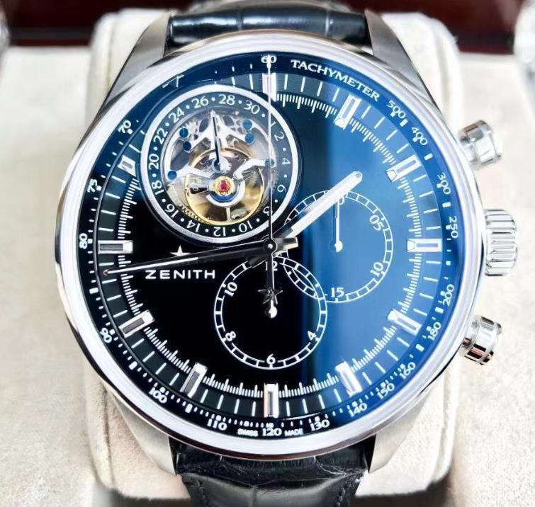 【新品】ゼニス ZENITH エルプリメロ EL PRIMERO トゥールビヨン 03.2280.4035/21.C714 ステンレススチール メンズ 腕時計 watch【送料・代引手数料無料】