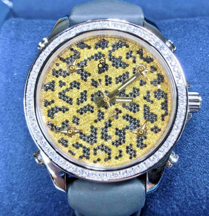 【新品】JACOB&CO ジェイコブ ファイブタイムゾーン ステンレススチール JC-M63 メンズ 腕時計 watch 【送料・代引手数料無料】