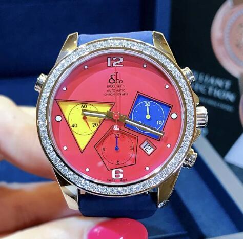 【新品】JACOB&CO ジェイコブ ファイブタイムゾーン ステンレススチール ACM-3 腕時計 watch【送料・代引手数料無料】