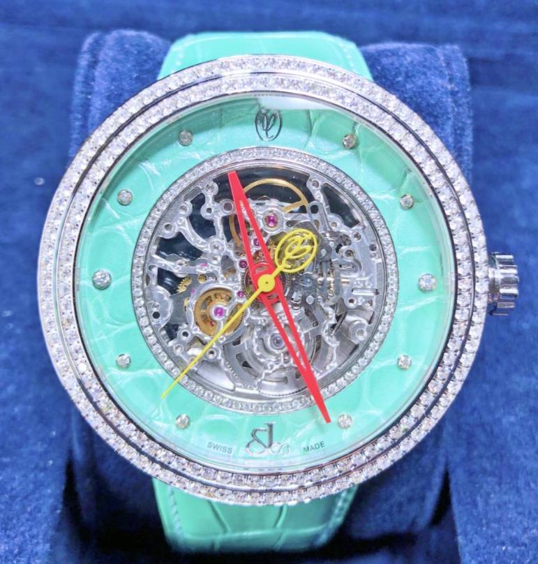 【新品】JACOB&CO ジェイコブ ヴァレンティン ユダシュキン WVY053 ステンレススチール メンズ 腕時計 WATCH 【送料・代引手数料無料】