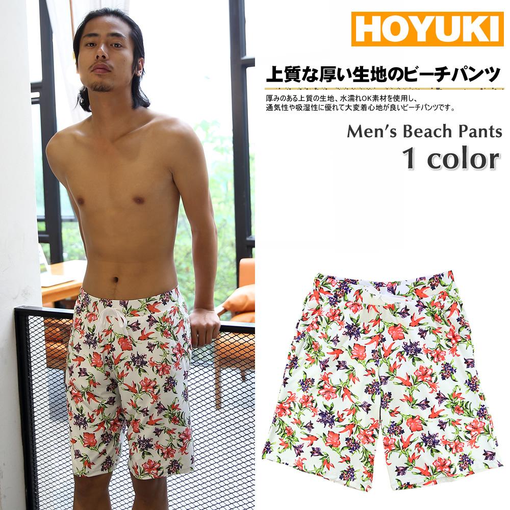 7fdbcb8bbee 2016 new swimwear men's half pants floral print casual short bread surf  pants men's M/ ...