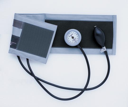 ギヤフリーアネロイド血圧計(プレミアタイプ) GF700-10 グレー 0-9523-01