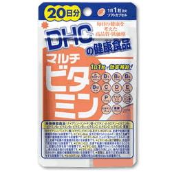 美容や健康に欠かせない13種類のビタミンを1粒に凝縮しました ファクトリーアウトレット NEW DHC マルチビタミン 20日分20粒 栄養機能食品 ビタミンB1 ビタミンB2 ビタミンE ナイアシン ビタミンD ビタミンC