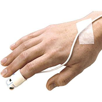 【送料無料】成人用フレックス 8000J (リユーザブルセンサー) パームサット用【パルスオキシメータープローブ】【サチュレーションモニター・SPO2・酸素飽和度・動脈血中酸素飽和度・SAO2 】