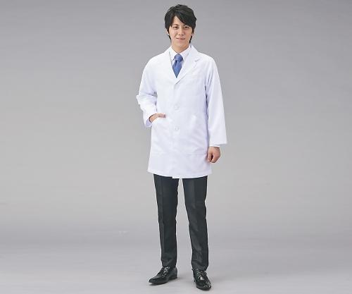 【送料無料】KAZEN・アプロン メンズシングル診察衣 S 8-6849-01