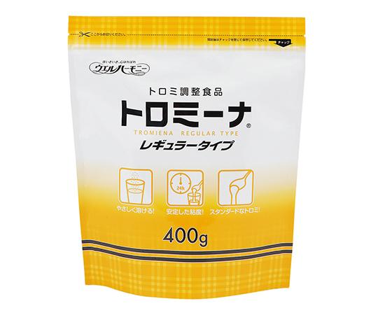 【送料無料】ウエルハーモニー トロミ-ナ (とろみ調整食品) レギュラ-タイプ (400g入)×10袋入 0-7277-21