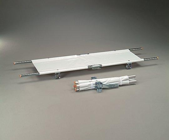 【送料無料】【直送の為、代引き不可】ナビス 担架 MT-11 四つ折り・キャスター付き スチール 8.7kg 0-9543-03