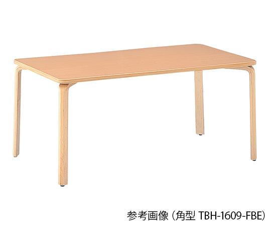 【送料無料】【直送の為、代引き不可】ナビス ダイニングテーブル 角型 (1600×1200×730mm) 7-3990-04