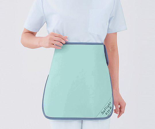 【送料無料】ナビス X線防護スカート SLSM35 Lグリーン 8-2492-03
