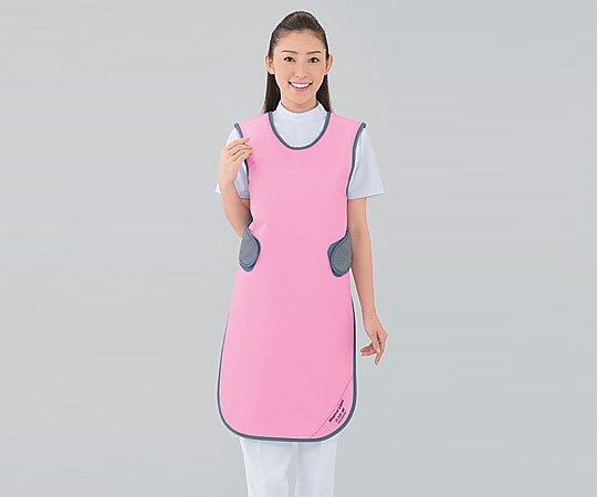 【送料無料】ナビス X線防護衣 SMA-25 M ピンク 8-2553-01