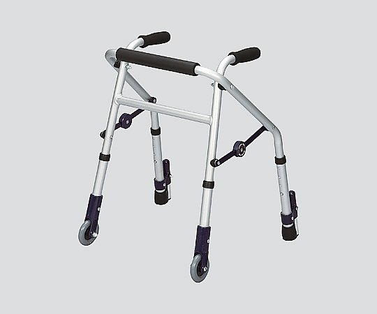 【送料無料】ユーバ産業 超ミニタイプ歩行器 (ミニフィット) 前輪キャスター式 8-2608-02