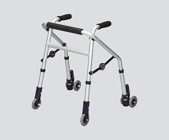 【送料無料】ユーバ産業 超ミニタイプ歩行器 (ミニフィット) 前輪・後輪キャスター式 8-2608-03