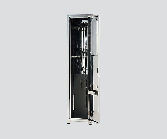 【送料無料】【直送の為、代引き不可】ナビス エコノミ-内視鏡保管庫 除湿ユニット有り 900×400×2000 収納8コ 8-5879-04