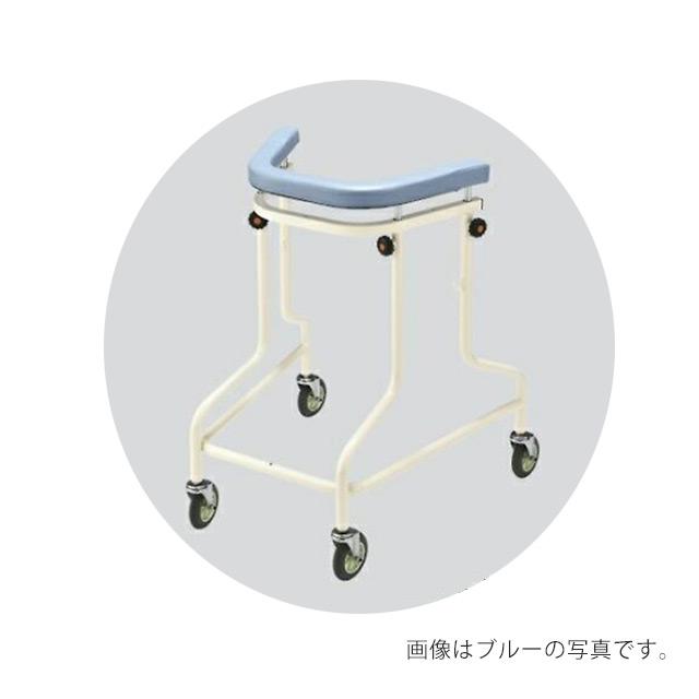 【送料無料】【直送の為、代引き不可】ナビス らくらくあるくん(R)(ネスティング歩行器) ブルー 8-6500-02