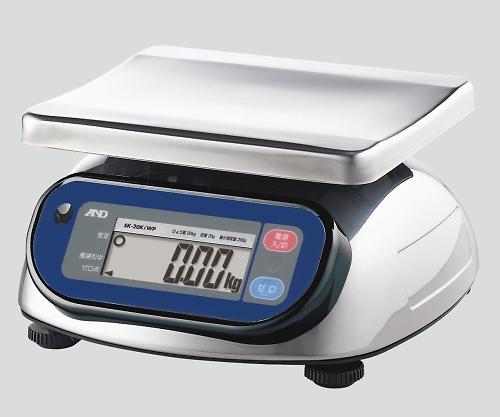 【送料無料】エー・アンド・デイ デジタルスケール(ウォーターボーイ・検定付) 20kg 8-8362-03