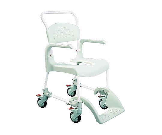 【送料無料】【直送の為、代引き不可】ナビス トイレット・シャワー用車椅子 (本体) 0-7484-01