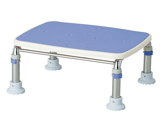 【送料無料】アロン化成 ステンレス製浴槽台R (すべり止め) 座面高さ 100mm ブルー 7-2050-01