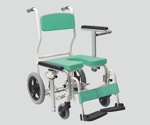 【送料無料】【直送の為、代引き不可】ナビス 入浴椅子用 座シート(グリーン) 8-6371-13