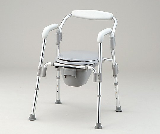 【送料無料】【直送の為、代引き不可】ナビス コモド椅子(折りたたみ式) 610×590×740~840mm 0-8128-01