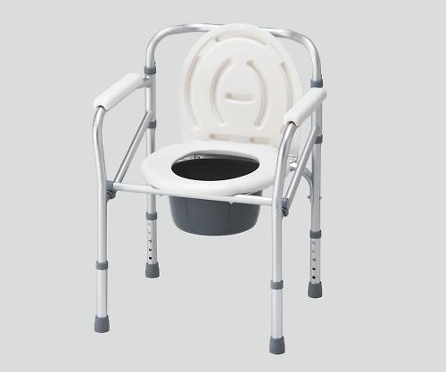 【送料無料】【直送の為、代引き不可】ナビス 折りたたみ便器椅子 0-9853-21