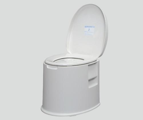【送料無料】【直送の為、代引き不可】アイリスオーヤマ ポータブルトイレ 410×485×415 8-8347-01