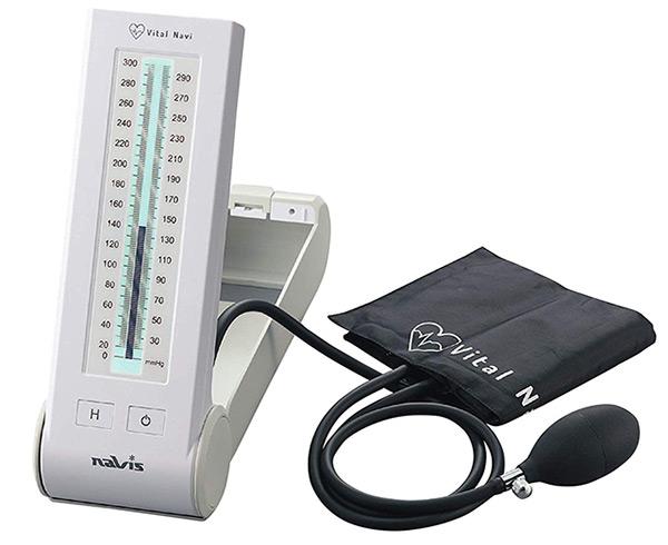 【送料無料】バイタルナビ 水銀フリー血圧計 NV3320 7-6245-01 アズワン【水銀レス血圧計・アズワン 血圧計・水銀なし 血圧計・上腕式血圧計】