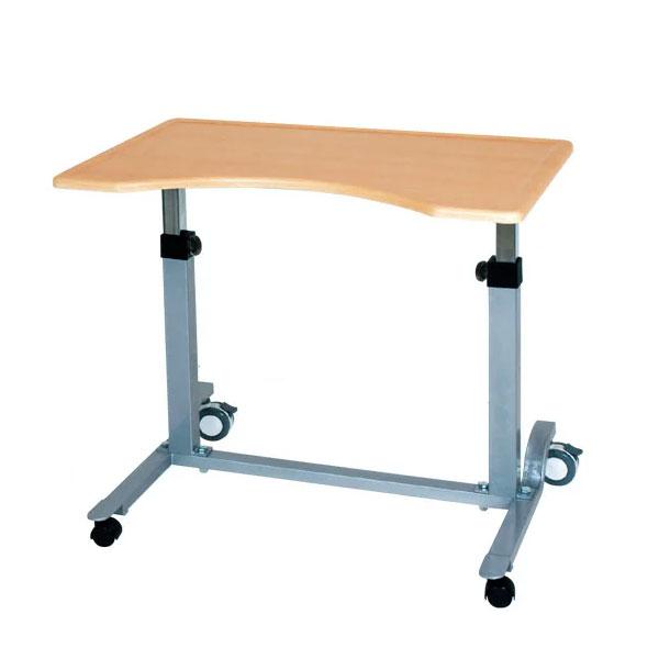 【直送の為、代引き不可】【送料無料】介護テーブル No.713【天板形状・上肢の保持】【ベット用テーブル・ベット机】