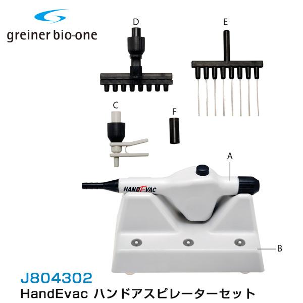 HandEvac ハンドアスピレーターセット J804302 グライナー・ジャパン【バイオサイエンス】【理化学】