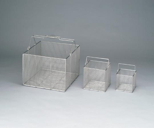 【送料無料】ナビス ステン角型洗浄カゴ 特大 4-098-01
