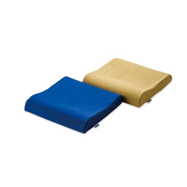 【送料無料】ヴィスコフロート 低反発ウェーブクッション VT816/ネイビーブルー、VT869/ベージュ【制菌加工・超撥水・車椅子用クッション・低反発・通気性】