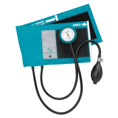 【送料無料】ギヤフリーアネロイド血圧計 02-5790-03 ティール
