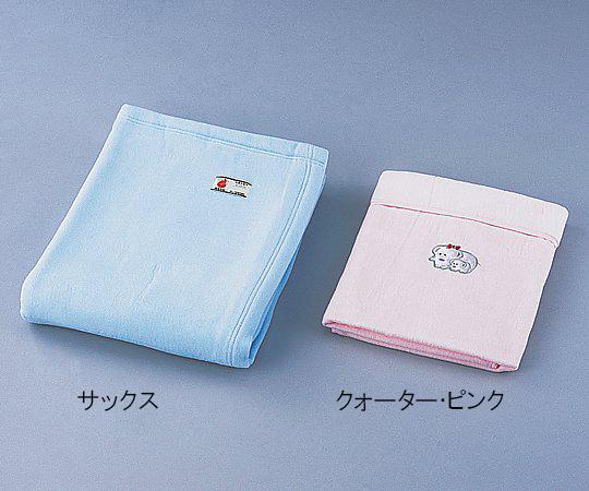 【送料無料】防炎綿毛布 (1400×2000mm/ピンク) 0-8959-02