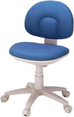 【送料無料】【直送の為、代引き不可】快適OA椅子 CH-B636XSN ブルー 0-8057-02